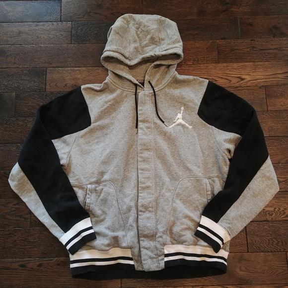 cddf542936c Jordan Shirts | Nike Air Snap Up Hoodie Sweatshirt Mens L | Poshmark
